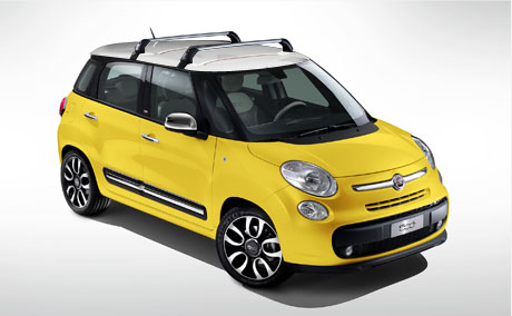 fiat 500l trekking | accessories and features | fiat irl
